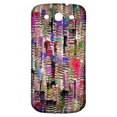 Colorful Shaky Paint Strokes                        Samsung Galaxy S Iii Flip 360 Case by LalyLauraFLM