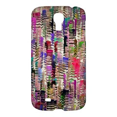 Colorful Shaky Paint Strokes                        Apple Ipad 3/4 Woven Pattern Leather Folio Case by LalyLauraFLM
