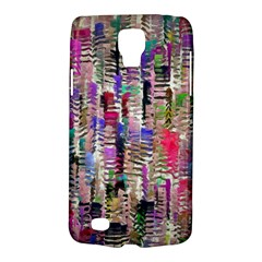 Colorful Shaky Paint Strokes                        Samsung Galaxy Ace 3 S7272 Hardshell Case by LalyLauraFLM
