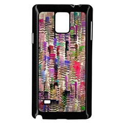 Colorful Shaky Paint Strokes                        Samsung Galaxy Note 4 Case (color) by LalyLauraFLM