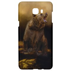 Roaring Grizzly Bear Samsung C9 Pro Hardshell Case  by gatterwe