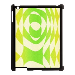Green Shapes Canvas                        Apple Ipad Mini Hardshell Case (compatible With Smart Cover) by LalyLauraFLM