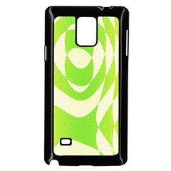 Green Shapes Canvas                        Samsung Galaxy Note 4 Case (color) by LalyLauraFLM
