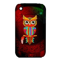Cute Owl, Mandala Design Iphone 3s/3gs by FantasyWorld7