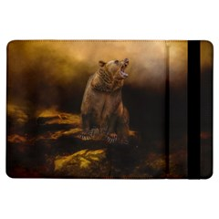 Roaring Grizzly Bear Ipad Air Flip by gatterwe