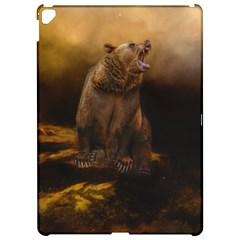 Roaring Grizzly Bear Apple Ipad Pro 12 9   Hardshell Case