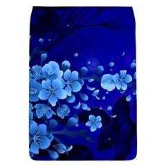 Floral Design, Cherry Blossom Blue Colors Flap Covers (s)  by FantasyWorld7