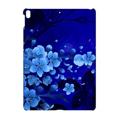 Floral Design, Cherry Blossom Blue Colors Apple Ipad Pro 10 5   Hardshell Case by FantasyWorld7