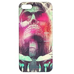 Skull Shape Light Paint Bright 61863 3840x2400 Apple Iphone 5 Hardshell Case With Stand by amphoto