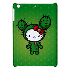 Vector Cat Kitty Cactus Green  Apple Ipad Mini Hardshell Case