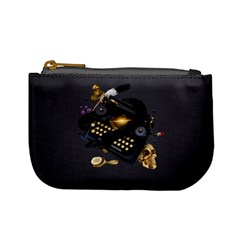 Typewriter Skull Witch Snake  Mini Coin Purses by amphoto