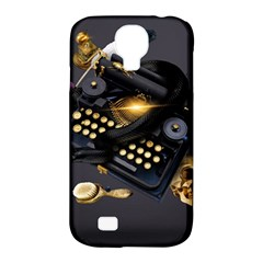 Typewriter Skull Witch Snake  Samsung Galaxy S4 Classic Hardshell Case (pc+silicone) by amphoto