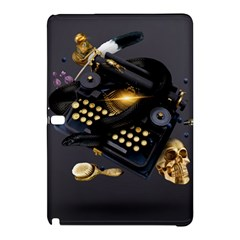 Typewriter Skull Witch Snake  Samsung Galaxy Tab Pro 12 2 Hardshell Case by amphoto