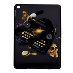 Typewriter Skull Witch Snake  Ipad Air 2 Hardshell Cases by amphoto