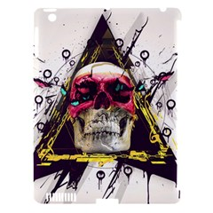 Skull Paint Butterfly Triangle  Apple Ipad 3/4 Hardshell Case (compatible With Smart Cover)