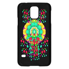 Rain Meets Sun In Soul And Mind Samsung Galaxy S5 Case (black) by pepitasart