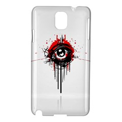 Red White Black Figure  Samsung Galaxy Note 3 N9005 Hardshell Case by amphoto