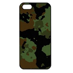 Military Background Texture Surface  Apple Iphone 5 Seamless Case (black) by amphoto