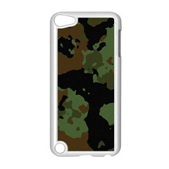 Military Background Texture Surface  Apple Ipod Touch 5 Case (white) by amphoto