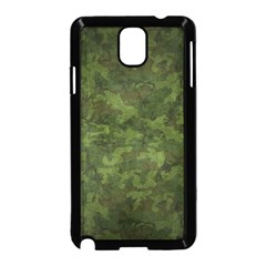 Military Background Spots Texture  Samsung Galaxy Note 3 Neo Hardshell Case (black) by amphoto