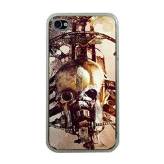 Mad Max Mad Max Fury Road Skull Mask  Apple Iphone 4 Case (clear) by amphoto