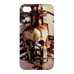 Mad Max Mad Max Fury Road Skull Mask  Apple Iphone 4/4s Hardshell Case by amphoto