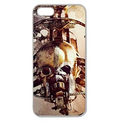 Mad Max Mad Max Fury Road Skull Mask  Apple Seamless Iphone 5 Case (clear) by amphoto