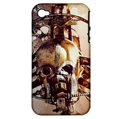 Mad Max Mad Max Fury Road Skull Mask  Apple Iphone 4/4s Hardshell Case (pc+silicone)