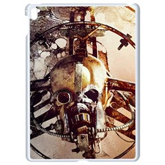 Mad Max Mad Max Fury Road Skull Mask  Apple Ipad Pro 9 7   White Seamless Case by amphoto