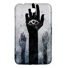 Hand Eye Vector  Samsung Galaxy Tab 3 (7 ) P3200 Hardshell Case  by amphoto