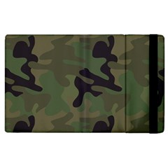 Military Spots Texture Background  Apple Ipad 2 Flip Case by amphoto