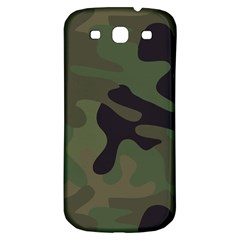 Military Spots Texture Background  Samsung Galaxy S3 S Iii Classic Hardshell Back Case by amphoto