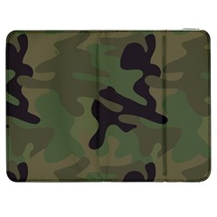 Military Spots Texture Background  Samsung Galaxy Tab 7  P1000 Flip Case by amphoto