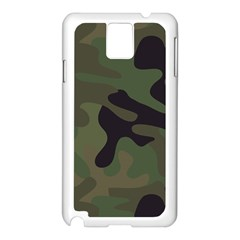 Military Spots Texture Background  Samsung Galaxy Note 3 N9005 Case (white) by amphoto