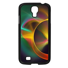 Light Color Line Smoke Samsung Galaxy S4 I9500/ I9505 Case (black) by amphoto