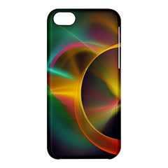 Light Color Line Smoke Apple Iphone 5c Hardshell Case by amphoto