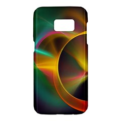 Light Color Line Smoke Samsung Galaxy S7 Hardshell Case  by amphoto