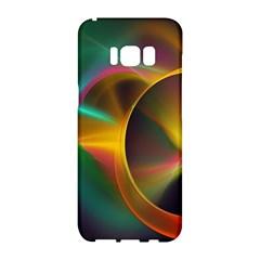 Light Color Line Smoke Samsung Galaxy S8 Hardshell Case  by amphoto