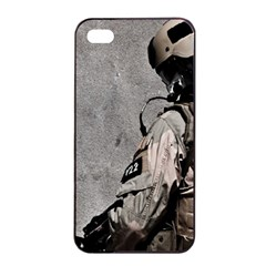 Cool Military Military Soldiers Punisher Sniper Apple Iphone 4/4s Seamless Case (black) by amphoto