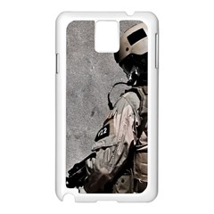 Cool Military Military Soldiers Punisher Sniper Samsung Galaxy Note 3 N9005 Case (white) by amphoto