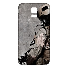 Cool Military Military Soldiers Punisher Sniper Samsung Galaxy S5 Back Case (white) by amphoto