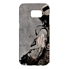Cool Military Military Soldiers Punisher Sniper Samsung Galaxy S7 Edge Hardshell Case by amphoto