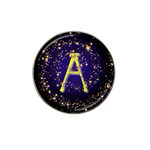 0Alphabet-A Hat Clip Ball Marker (4 pack)