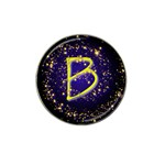 0Alphabet-B Hat Clip Ball Marker (4 pack)