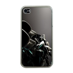 Black White Figure Form  Apple Iphone 4 Case (clear) by amphoto