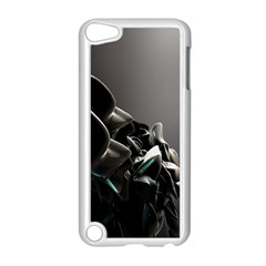 Black White Figure Form  Apple Ipod Touch 5 Case (white) by amphoto