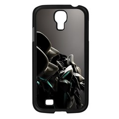 Black White Figure Form  Samsung Galaxy S4 I9500/ I9505 Case (black) by amphoto