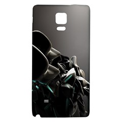Black White Figure Form  Galaxy Note 4 Back Case by amphoto