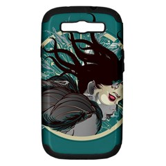 Angel Wings Paint  Samsung Galaxy S Iii Hardshell Case (pc+silicone) by amphoto