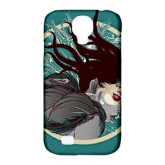 Angel Wings Paint  Samsung Galaxy S4 Classic Hardshell Case (pc+silicone) by amphoto